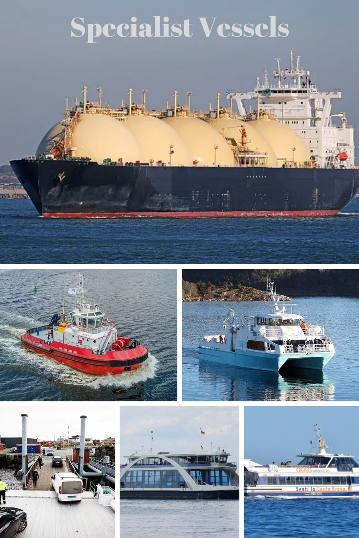 LNG and LPG ships for sale